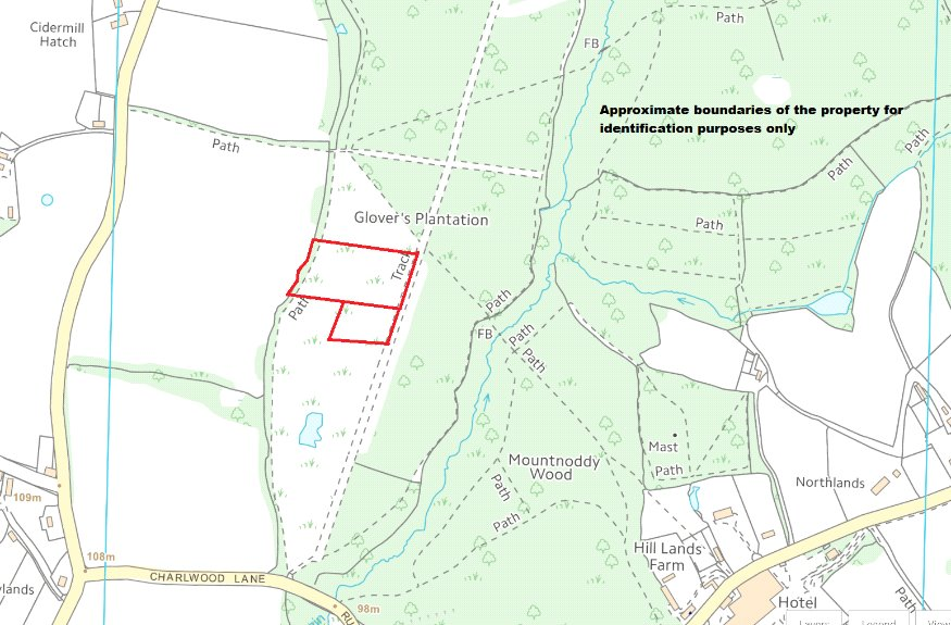 Land In Glovers Wood, Charlwood